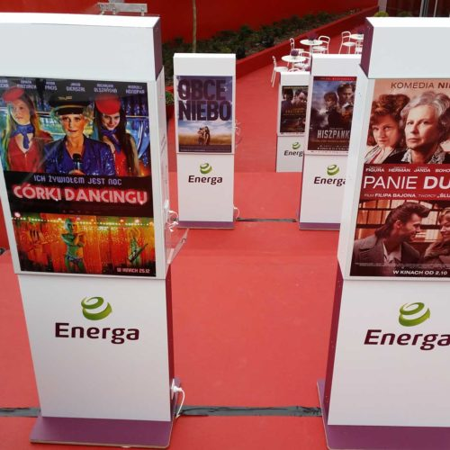 Festiwal filmowy w Gdyni - pylony ENERGA