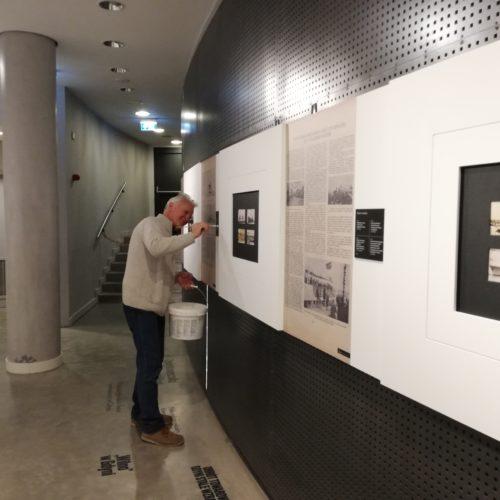 """Realizacja wystawy w Muzeum Miasta Gdyni """"dawno temu nad Bałtykiem"""