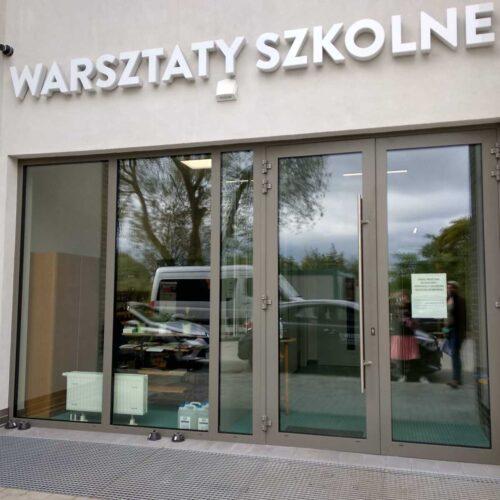 Wykonanie liter przestrzennych - Warsztaty Szkolne w Gdyni